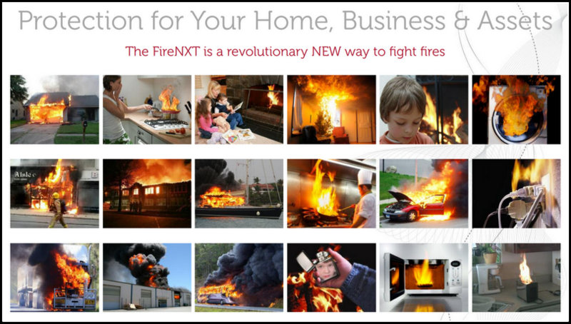 fire extinguisher ball home business protection from fire